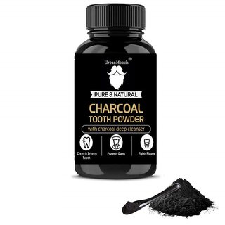 UrbanMooch Pure  Natural Activated Charcoal Teeth Whitening Powder 20g