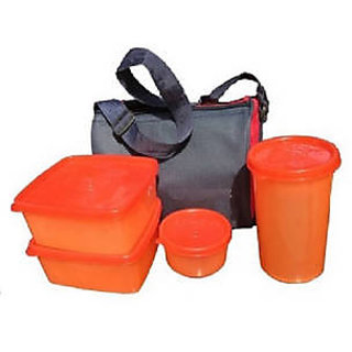 Snowpearl top ware lunch box (Assorted)