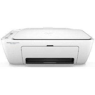 HP DeskJet 2675 All-in-One Ink Advantage Wireless Colour Printer (White)