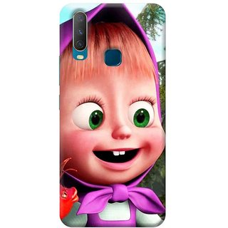 FurnishFantasy Mobile Back Cover for Vivo Y17 (Product ID - 0691)