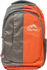 Trekkers Need Double Shade School Bag High Fashion (Orange)