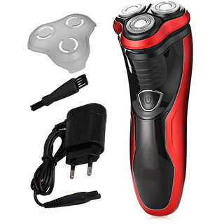 Kemei KM-9013 Razor Hair Removal trimmer Haircut with 3D Floating Heads Tools Washable Rechargeable Rotary Men Electric