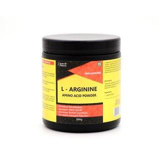 Healthvit Fitness L-Arginine Amino Acid Powder Muscle Building Endurance 200GM