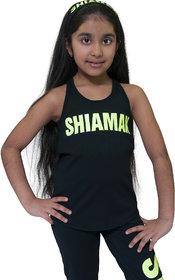 Shiamak Girls Racer Back Tank