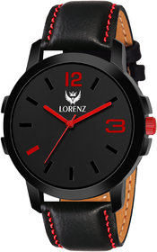Lorenz Casual Fit Watch for Men  Watch for Boys-  Red  2061W