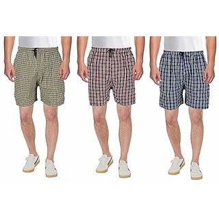 Fashlook Pack Of 3 Short For Men