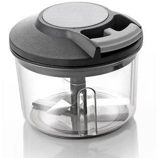 Ankur Handy Plastic Chopper with Pull Cord Technology (650 ml)