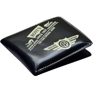 BOVIS Black PU Stylish Wallet For Mens (BOV-A1) (Synthetic leather/Rexine)