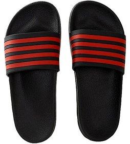 Stylish Slippers for Boy and men Slides (RedBlack)