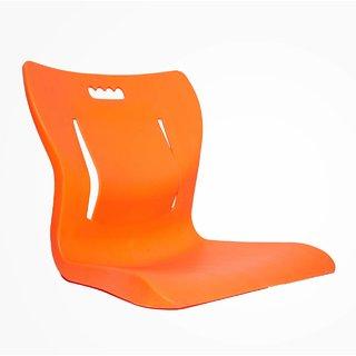 Aasan Chair Plastic Yoga Meditation Backache Healer Chair, Saffron