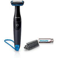 Philips BG1024/16 Body Groomer for Men  Black, Blue