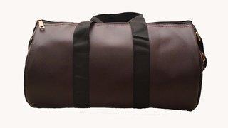 Trekkers Need Leatherite Duffel Bag (BROWN)