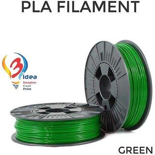 3idea PLA 1.75mm 3D Printer Filament (Green) 1kg Spool 3D Printing Material