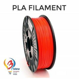 3idea PLA 1.75mm 3D Printer Filament (Orange) 1kg Spool 3D Printing Material