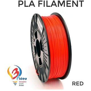 3idea PLA 1.75mm 3D Printer Filament (Red) 1kg spool 3D Printing Material