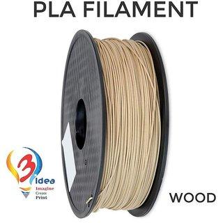 3idea PLA 1.75mm 3D Printer Filament (Wood) 1kg Spool 3D Printing Material