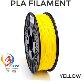 3idea PLA 1.75mm 3D Printer Filament (Yellow) 1kg Spool 3D Printing Material