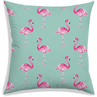 RADANYA Floral Cushion Cover,Green,40X40 cm (16X16)