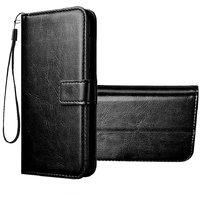 Wondrous Vintage Leather Flip Wallet Case for Redmi Note 7 & Redmi Note 7 Pro & Redmi Note 7s