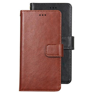 Imperium Vintage Leather Flip Wallet Case for Honor 8X