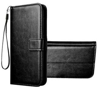 Imperium Vintage Leather Flip Wallet Case for Vivo V15