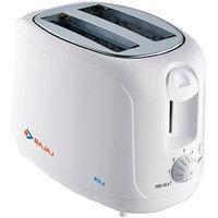 Bajaj ATX4 750 W Pop Up Toaster (White)