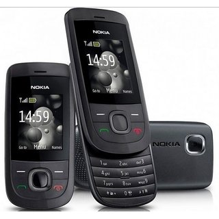 Refurbished Nokia 2220  Black (6 Months WarrantyBazaar Warranty)