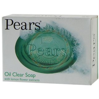 Pears Oil Clears Hypoallergenic soap ( Pack of 6 ) (125 g Pack of 6)
