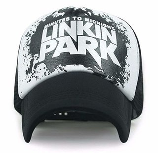 Men Black Linkin Park Caps