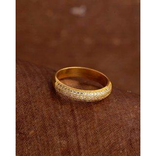Voylla Gems Embellished Band Ring