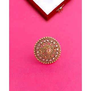 Voylla Copper Ethnic Style Ring