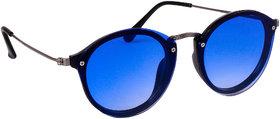 TheWhoop Premium Round Sunglasses  Stylish Flat Design Round Goggles For Men, Women, Girls, Boys