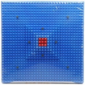 Acupressure Reflexology Magnetic Pyramidal Therapy Energy Pain Relief Power Foot Health Deluxe Mat