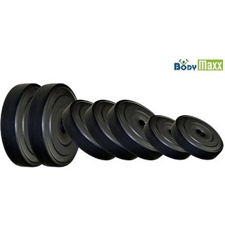 Body Maxx Pvc Weight Plates Home Gym Combo 10KG