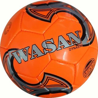 Wasan Dynasty Football Size 5 - Orange (12 Years and Above)