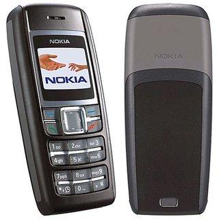 Refurbished Nokia 1600 Black (1 Year Warranty Bazaar Warranty)