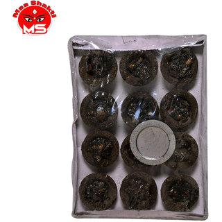 MAA SHAKTI chandan fragrance guggal loban sambrani dhoop cup (pack of 1)
