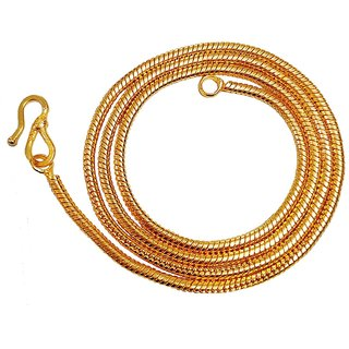 Xoonic Real Look Gold Plated Chain 22 Inch Long-XC-235