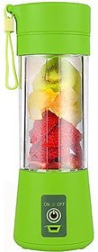 GAURAV MART Portable USB Electric Juicer Grinder Mixer Juice Blender  USB Rechargeable Blender (ASSORTED COLOURS)