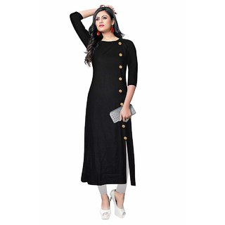 Latest Stylish Party Wear Rayon Straignt Kurti For Girls Women