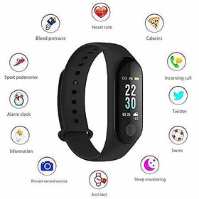 M3 Waterproof Health Bracelet  Compatible With All Smartphone.