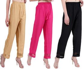 RMG Fashion Presents Multicolor Unique Style  Comfortable Plazo Pants