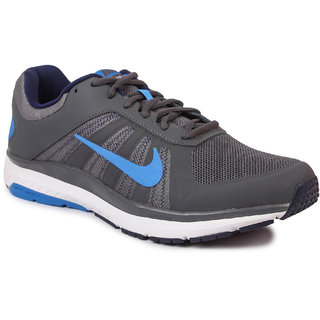 Nike Mens Dart 12 Msl Gray Sports Shoes