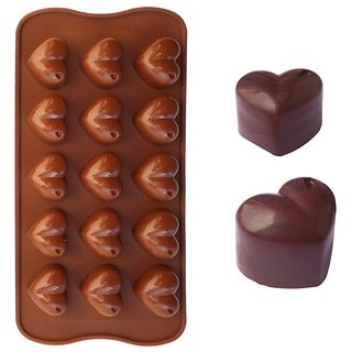 Silicone Chocolate Mould - Heart Shaped