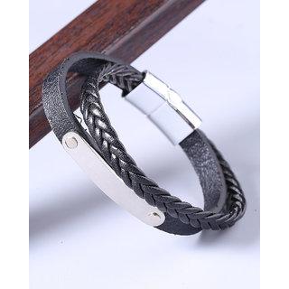 Dare by Voylla Royal Bands Layered Bracelet