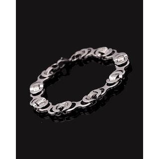 Dare by Voylla Royal Link Men's Mechanical Links Bracelet