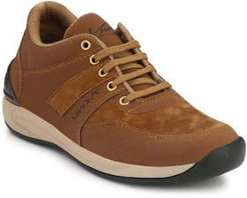 Knoos Men's Brown Smart Casual Lace-up Shoe