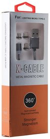 KSS X-CABLE Metal Magnetic Cable Stronger Magnetism - Multi-Color