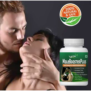Natural Health Care Malebooster Traditional Wellness Herbs 1 Pack 60 Capsules