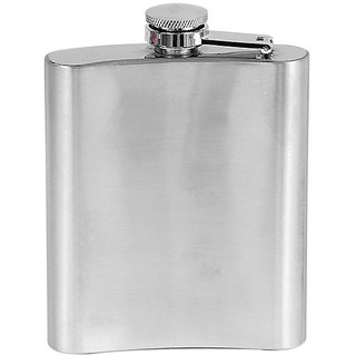 Vaskut Stainless Steel Hip Flask Drinking Bottle 8 OZ